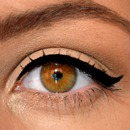 Perfect eyeliner for round eyes