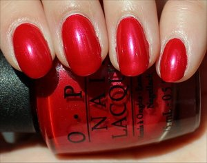 See my review & more swatches here: http://www.swatchandlearn.com/opi-the-color-of-minnie-swatches-review/