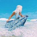 White Hair & Seafoam