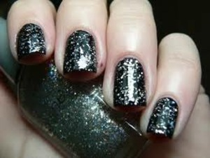 Sexy for a night out on the town!! #Nails #Nailcare #Beauty #Onyx