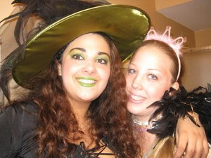 The wicked witch and the good witch