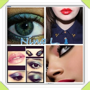 @Sammy Lee  Mendez square to the top right❤ @chana Holts top left❤ @ wilamina Korellia  bottom right❤ @ my personal best Katie Wilson my BFF to the bottom left❤  Comment you name and a pic example : a pic for nail ideas  -@--/--/---/  I WILL SHOUT OUT !!!!!