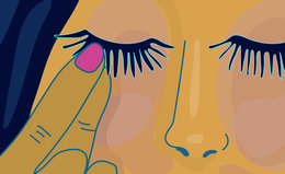 How to Get Eyelash Glue off Your Eyes