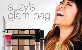My NYX makeup glam bag & a neutral eyes tutorial!