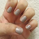 Rescue Beauty Lounge Grunge and Deborah Lippmann Glitter in The Air