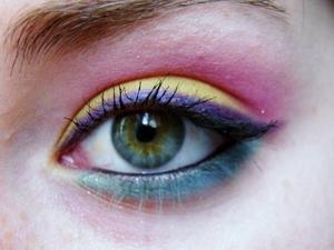 cherry limeade eyeshadow tutorial