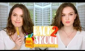 GRWM : My Actual Back To School Makeup Routine 2018