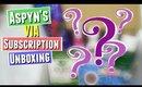 Aspyn Ovard Subscription Box UNBOXING &  Aspyn Ovard Subscription Box REVIEW, VIA Aspynista January
