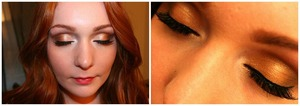 A client that wanted a bronze smokey eye for a party this summer.
