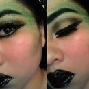 Medusa Makeup (FULL FACE)