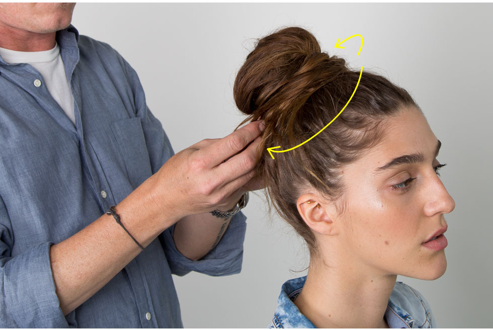 The Easiest Messy Bun In The World Beautylish