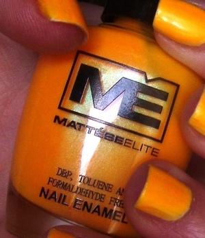 Mattese Elite - Tequila Sunrise scented polish