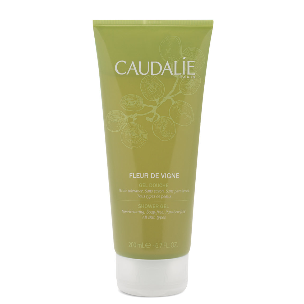 Caudalie Fleur De Vigne Shower Gel product swatch.