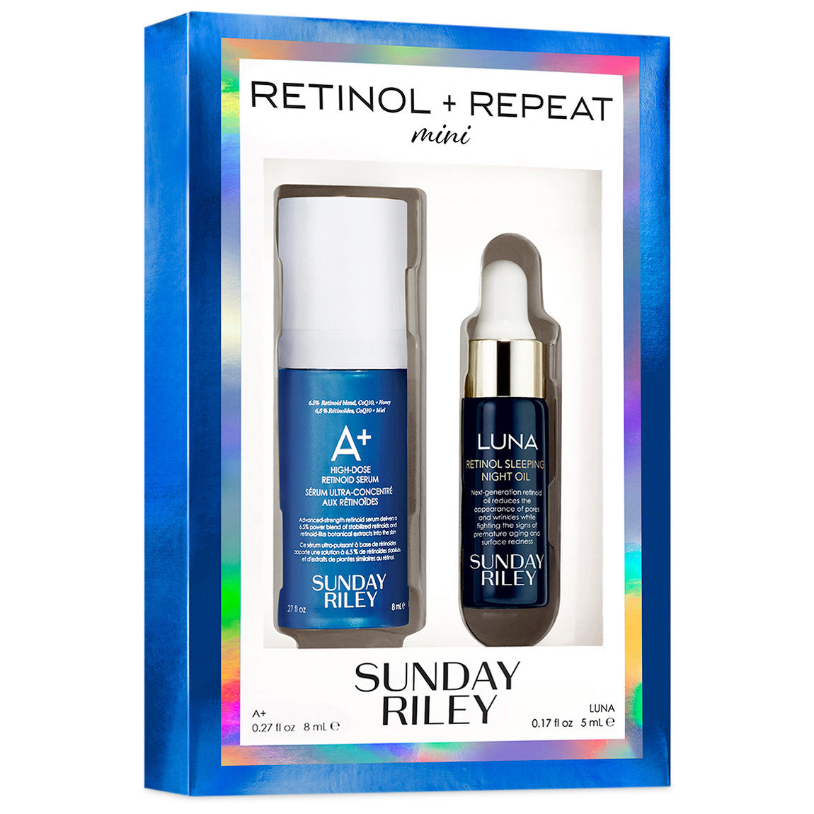 Sunday Riley Mini Retinol and Repeat product swatch.