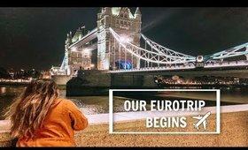 TRAVEL DIARIES | EUROTRIP 2019 | LONDON