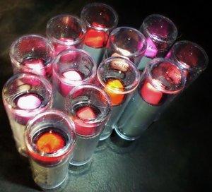 12 set lápiz labial de Aliexpress