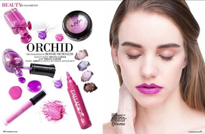 I recently did a Beauty Editorial for Ellements Magazine. I wanted to feature Pantone's Color Of The Year: Radiant Orchid. I also wanted to accomplish several looks using affordable and quality products!  You can check out the full editorial and get the complete list of Radiant Orchid inspired makeup here: http://www.magcloud.com/browse/issue/717496