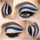 Blue Floating Cut Crease
