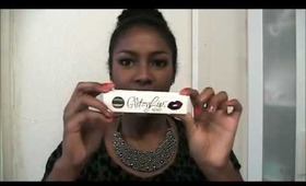 How to & Review: GlitzyLips Lip Foil