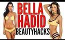 BELLA HADID Beauty Hacks   How To Look Like A MODEL !!!