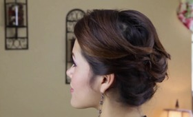 HOW TO: Salon Style Pin Curl UpDo