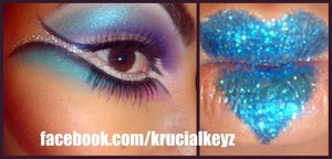 Extraterrestrial Blue Kisses <3