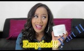 Empties Pt II: Makeup