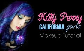 Katy Perry California Gurls Makeup Tutorial