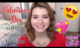 Super Simple Valentine's Day Makeup Tutorial ♡ Urban Decay Naked 3