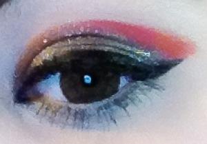 Silver flame eye