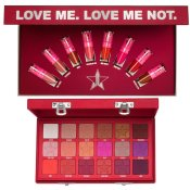 Jeffree Star Cosmetics The Mini Velour Liquid Lipsticks: Reds & Pinks & Blood Sugar Eyeshadow Palette Bundle