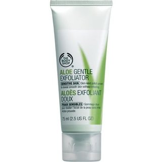 The Body Shop Aloe Gentle Exfoliator