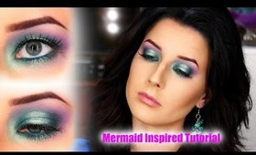 Mermaid Inspired Makeup Tutorial