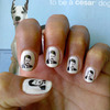 Ron Swanson Nail Art Decals
