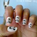 Ron Swanson Nail Art Decals