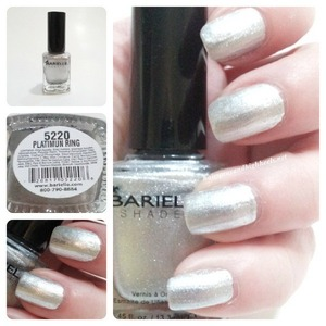 For full swatches and review check out the blog http://www.hairsprayandhighheels.net/2013/02/barielle-diamonds-are-forever-swatches.html