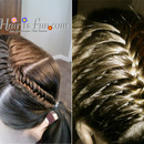 French Fishtail Ponytail