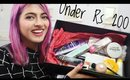 Budget Beauty #16: Top Picks Under Rs 200 _ Branded Beauty & Makeup Products | Nykaa Haul