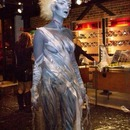 Bride of Frankenstein body paint