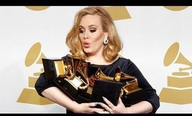 Adele's Louboutin Manicure at the Grammys