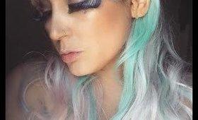 elf fairies makeup look