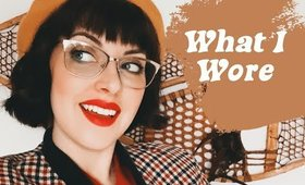 WHAT I WORE | 3 VINTAGE TRAVEL LOOKS