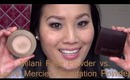 Milani Face Powder vs. Laura Mercier Foundation Powder