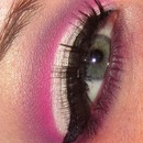 Pink and Purple Cut Crease