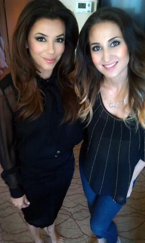 Did Eva Longoria's Makeup June 2013