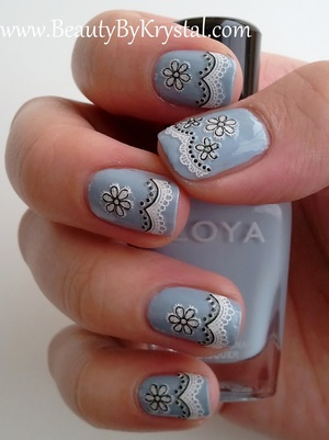 Zoya Kristen, LA Colors 3D Nail Stickers