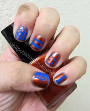 Avon Luck Penny and Sally Hansen Xtreme Wear Pacific Blue