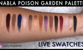NABLA POISON GARDEN PALETTE LIVE SWATCHES I Futilities And More