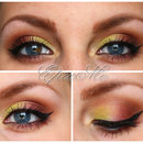 Colourful makeup :)