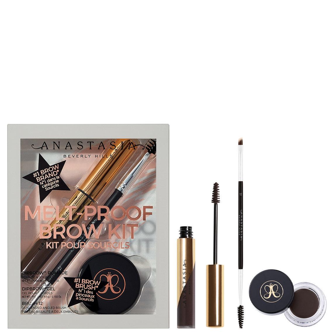 Anastasia Beverly Hills Melt-Proof Brows Kit Ebony